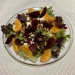 Pomegranate Goat Cheese Beet Salad
