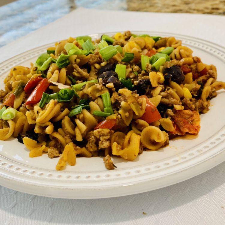 Taco Chickpea Pasta